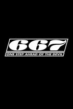 t-shirt 667 logo shirt, black