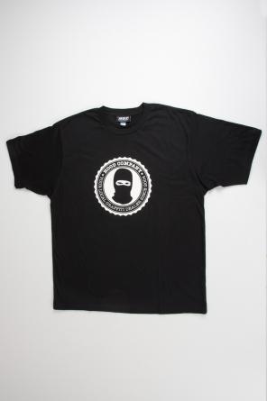 T-Shirt College, schwarz