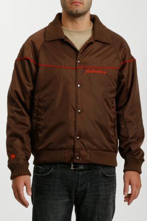 baseball jacket, brown
