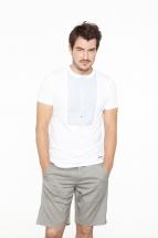 t-shirt michi, white